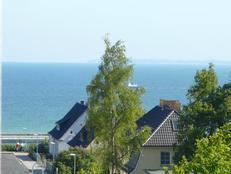 MEERBLICK mit 2 Schlafzimmer Balkon und Meerblick in Sassnitz