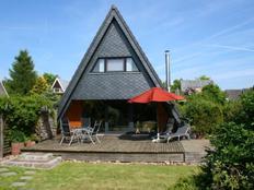 Ferienhaus mit Kamin in Damp