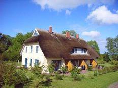 Reetdach-Ferienhaus Malve 1, Puddeminer Wiek in Puddemin