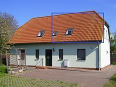 Landhaus am Teich - Saaler Bodden - FeWo blau in Saal