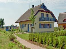 Ferienhaus Dornbusch mit Wasserblick in Vieregge