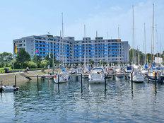 Ferienwohnung mit Meerblick in der Ostseeresidenz in Damp