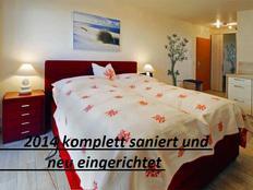 Yachthafenresidenz Whg 6102 inclusiv Strandkorb am Meer, hochwertiges Boxspringbett in Kühlungsborn