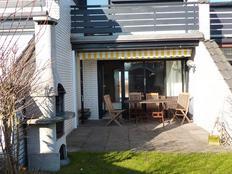 Sütel HAUS 58 Ferien-Reihenhaus für 4 Personen mit Terrasse und Garten 150m vom Strand # 1 Hund erla in Sütel