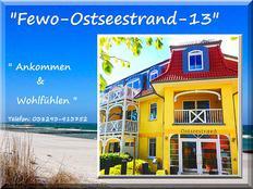 Ostseestrand-13 (Strandlage & W-Lan & Parkplatz inklusiv) in Kühlungsborn