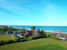 F1 / TERRASSEN-WOHNUNG, Schwimmbad, Strandkorb, Sauna & Meer - OSTSEE zum Greifen nah in Kronsgaard