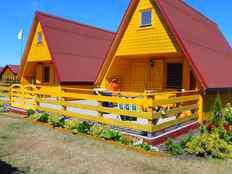 Ferienhaus an der Ostsee-Insel Wolin in Kolczewo