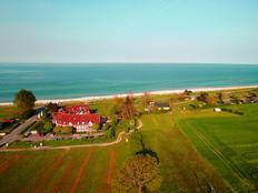C2 /3 *** Sterne Terrassen-Fewo in direkter Strandlage mit Meerblick Strandkorb Hallenbad kostenlos in Kronsgaard