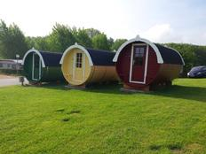 Campingfässer in Hohenkirchen