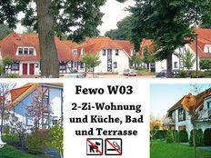 Ferienpark Gustow Typ 4 Nr. W03 in Gustow