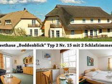 Reethaus Boddenblick Typ 2 Nr. 15 in Alt Reddevitz