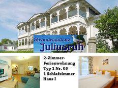 Strandresidenz Juliusruh Typ 1 Nr. 05 in Juliusruh