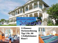 Strandresidenz Juliusruh Typ 1 Nr. 08 in Juliusruh