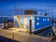 Ostsee Hausboot Antje Frieda auf Fehmarn in Burgstaaken