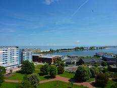 Ostsee Ferienpark Haus K im 9. OG. mit Balkon mit herrlichem Binnensee/Ostseepanoramablick (Nordost) in Heiligenhafen