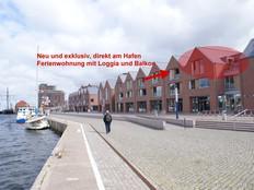 Ferienwohnung im Lotsenhus mit Balkon und Logia in Wismar