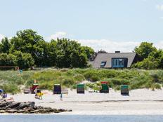 Kleines Strandhaus Stein in Stein