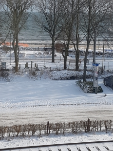 Helle Ferienwohnung mit Meerblick für 2-3 Personen in Eckernförde