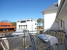 Haus Meeresrauschen WE-19 mit Balkon und Ostseeblick in Heringsdorf