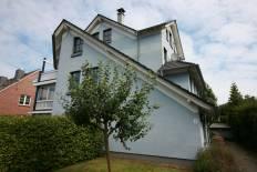 Blaues Haus in Stein in Stein