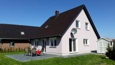 Ferienhaus am Salzhaff mit Seeblick in Boiensdorf