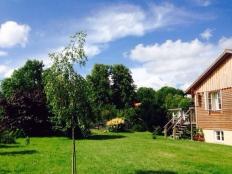 Romantisches Holzhaus mit Sauna in Stove