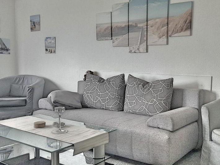 inkl strandkorb 1 reihe und wlan ca 50 m zum strand s. Black Bedroom Furniture Sets. Home Design Ideas